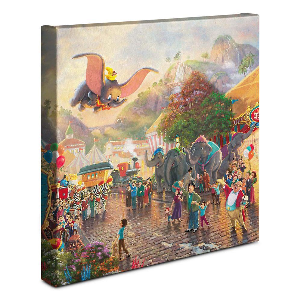 ''Dumbo'' Gallery Wrapped Canvas by Thomas Kinkade Studios