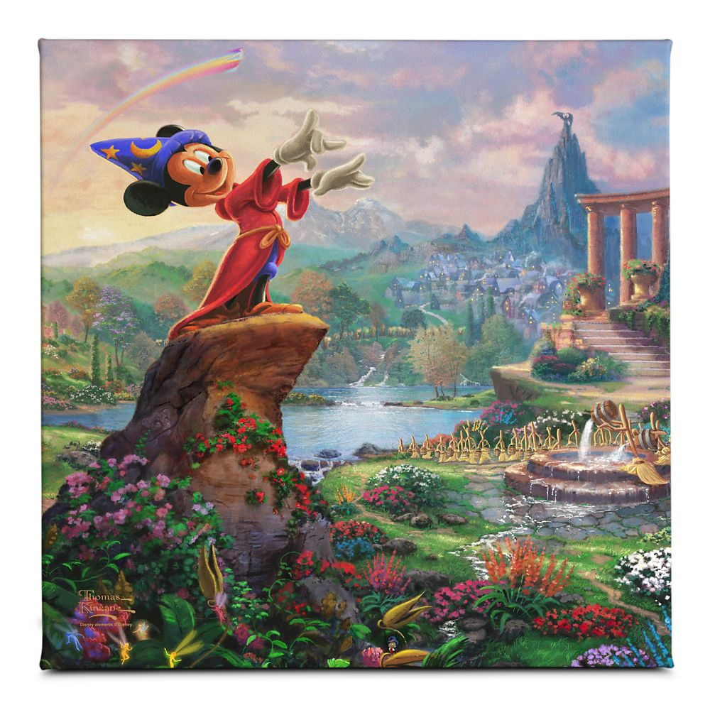 ''Fantasia'' Gallery Wrapped Canvas by Thomas Kinkade Studios