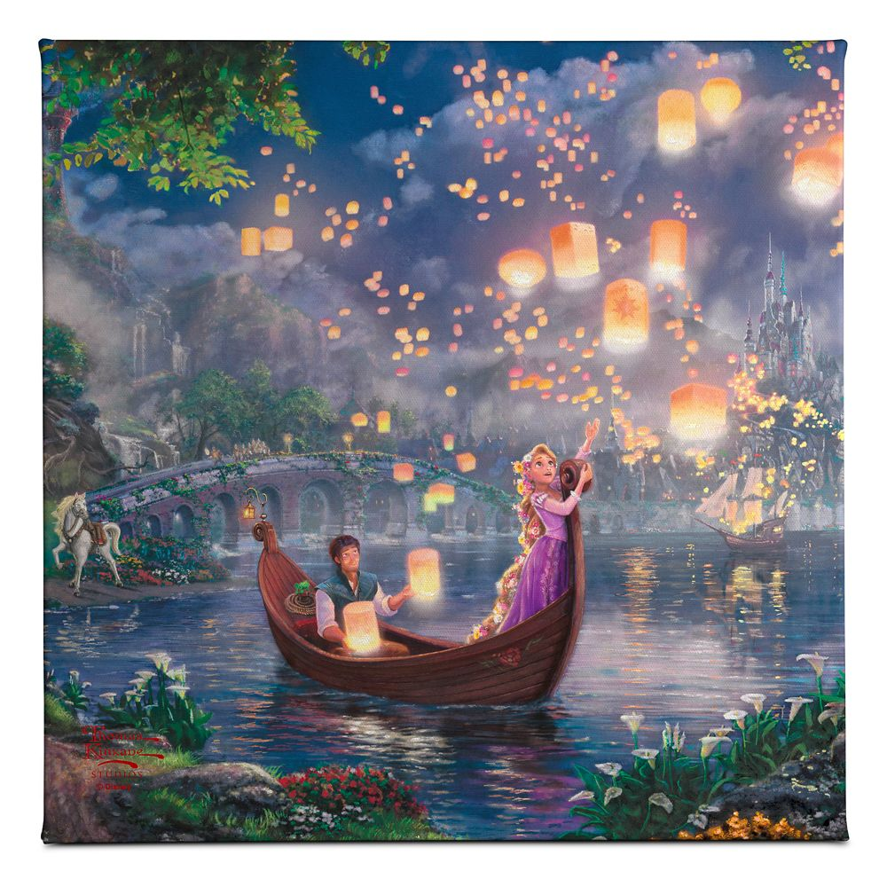 ''Tangled'' Gallery Wrapped Canvas by Thomas Kinkade Studios