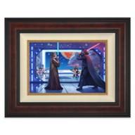 Star Wars ''Obi-Wan's Final Battle'' Framed Canvas by Thomas Kinkade Studios – Limited Edition