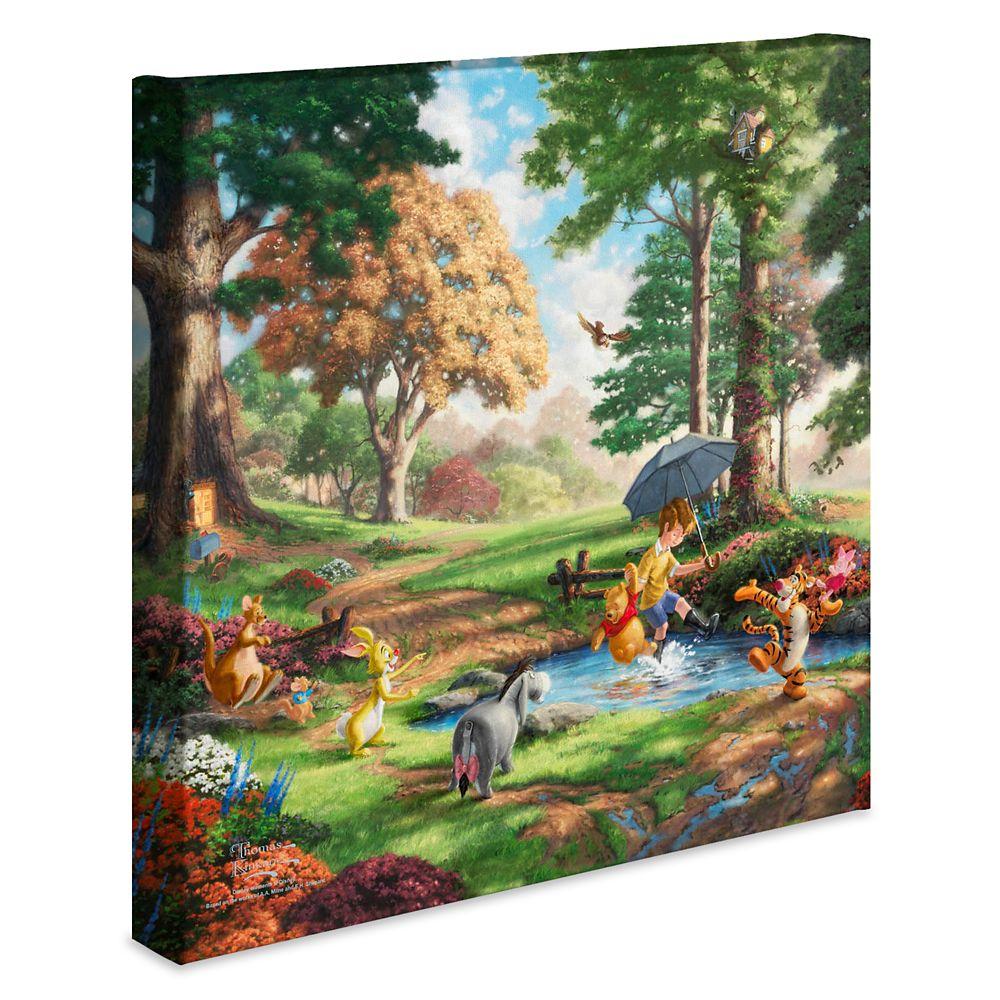 ''Winnie the Pooh I'' Gallery Wrapped Canvas by Thomas Kinkade Studios