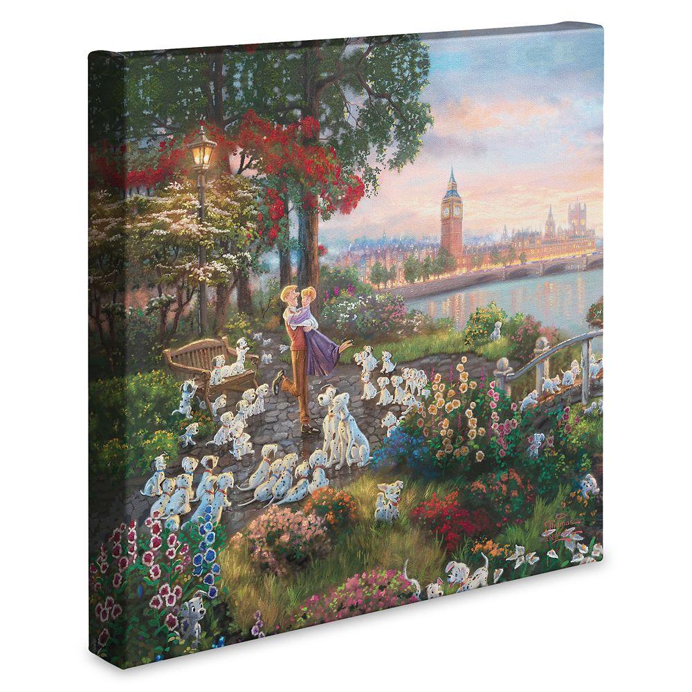 ''Disney 101 Dalmatians'' Gallery Wrapped Canvas by Thomas Kinkade Studios