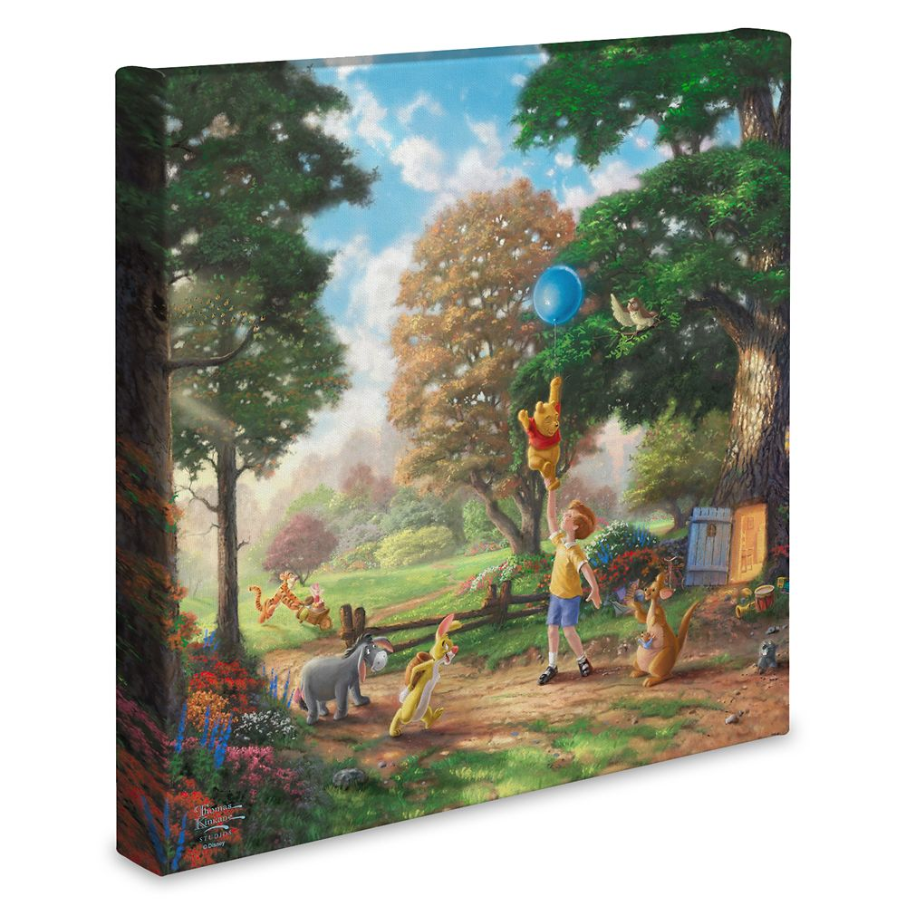 ''Winnie the Pooh II'' Gallery Wrapped Canvas by Thomas Kinkade Studios