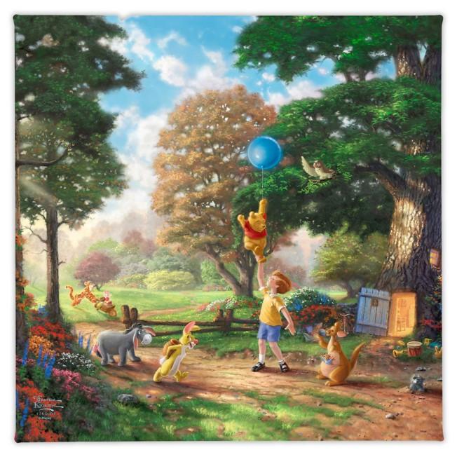 ''Winnie the Pooh II'' Gallery Wrapped Canvas by Thomas Kinkade Studios