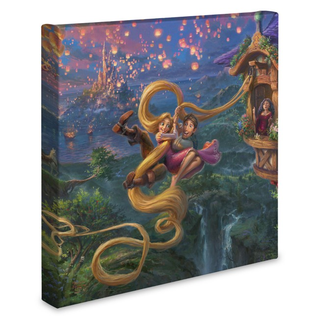 ''Tangled Up in Love'' Gallery Wrapped Canvas by Thomas Kinkade Studios
