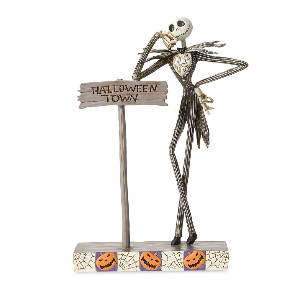 Jack Skellington ''Welcome to Halloween Town'' Figure by Jim Shore Official shopDisney