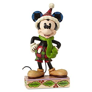 Mickey Mouse ''Merry Mickey'' Figure by Jim Shore