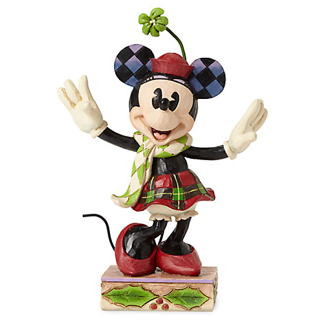 Minnie Mouse ''Merry Minnie'' Holiday Figure by Jim Shore