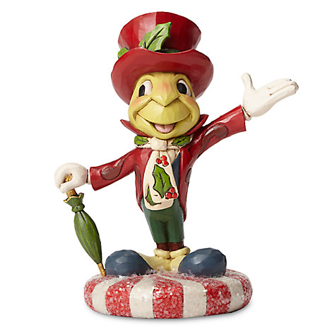 Jiminy Cricket Holiday Figure by Jim Shore
