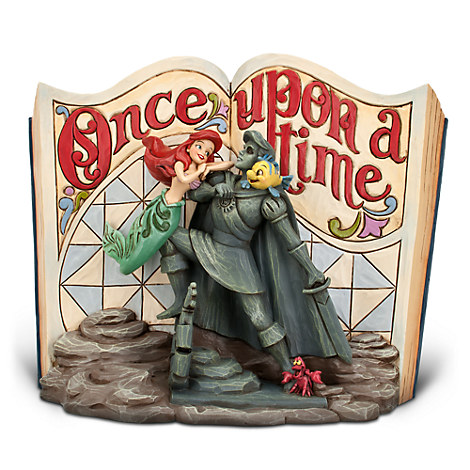 The Little Mermaid Story Book Figurine by Jim Shore