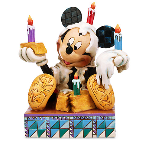 Mickey Mouse ''Here's to You!'' Figure by Jim Shore