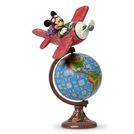 Mickey Mouse Aviator Figure by Jim Shore