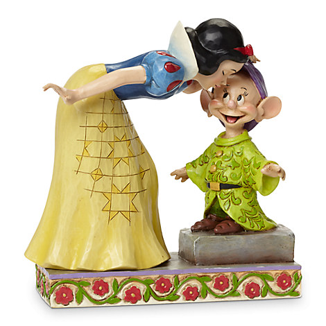 Snow White and Dopey ''Sweetest Farewell'' Figure by Jim Shore
