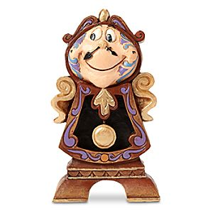 """Cogsworth """"Keeping Watch"""" Figure by Jim Shore – Beauty and the Beast"""