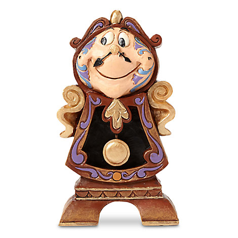 Cogsworth ''Keeping Watch'' Figure by Jim Shore - Beauty and the Beast