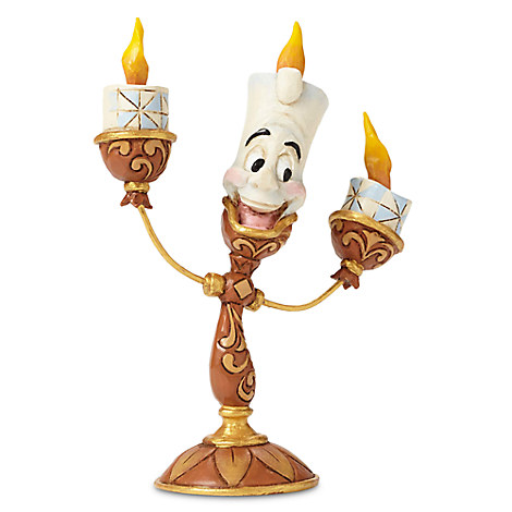 Lumiere ''Ooh La La'' Figure by Jim Shore - Beauty and the Beast