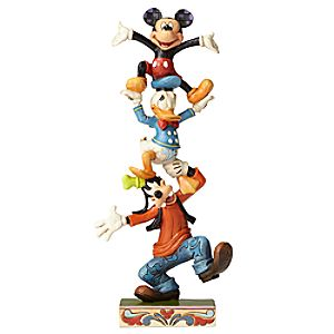Mickey Mouse and Friends ''Teetering Tower'' Figure
