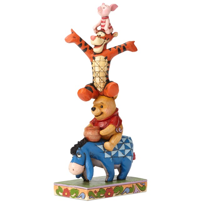 Winnie the Pooh and Pals ''Built By Friendship'' Figure by Jim Shore