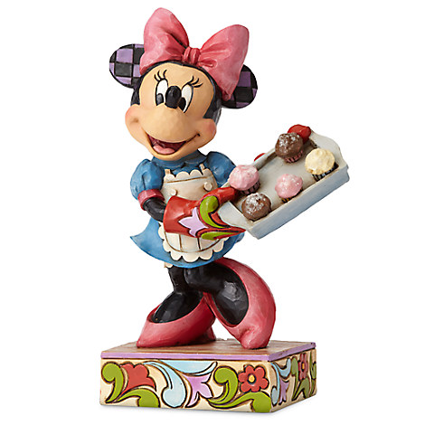 Baker Minnie Mouse Figure by Jim Shore