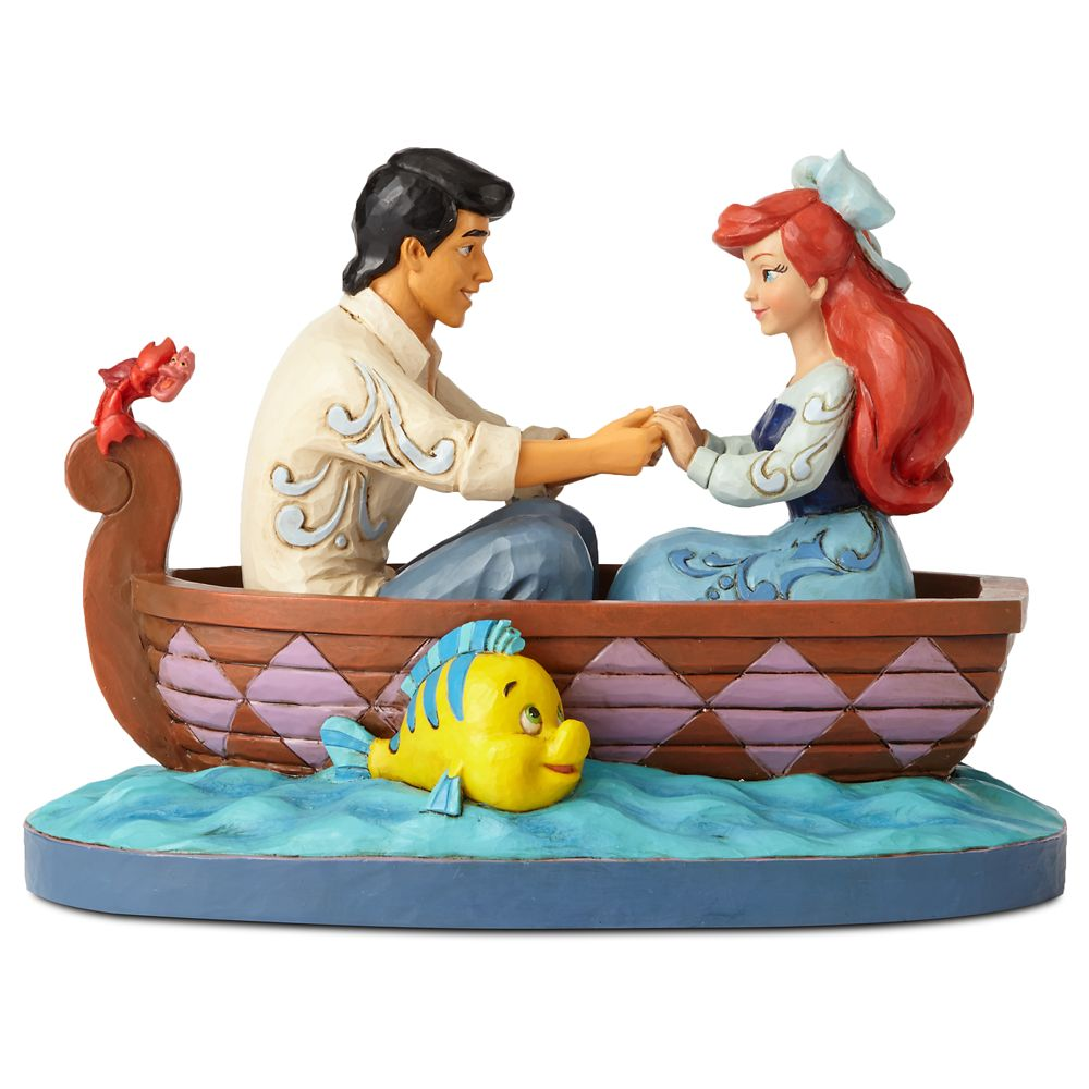 The Little Mermaid ''Waiting for a Kiss'' Figure by Jim Shore Official shopDisney
