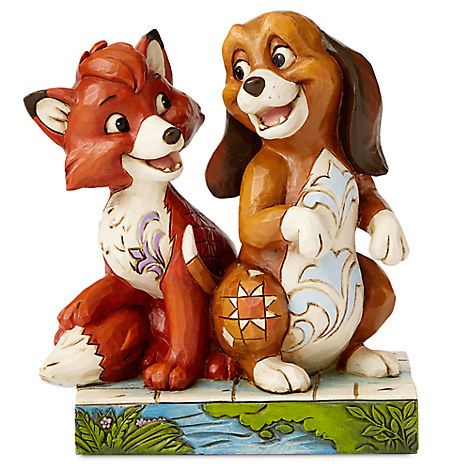 Tod and Copper Figure by Jim Shore - The Fox and the Hound