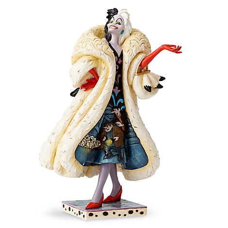 Cruella De Vil Figure by Jim Shore - 101 Dalmatians
