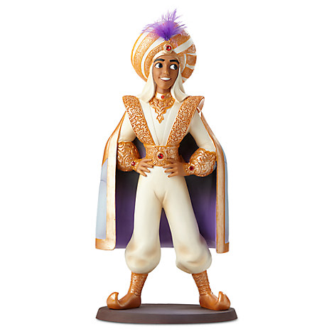 Aladdin as Prince Ali Couture de Force Figurine by Enesco