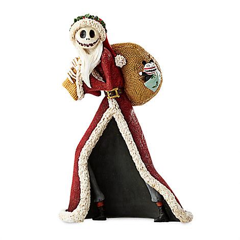 Santa Jack Skellington Couture de Force Figurine by Enesco