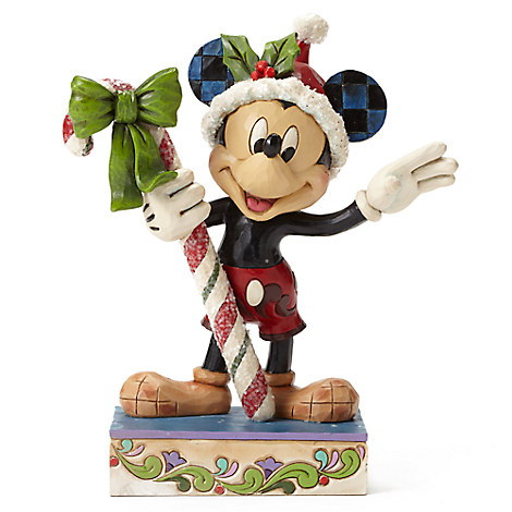 Mickey Mouse ''Sweet Greetings'' Figure by Jim Shore