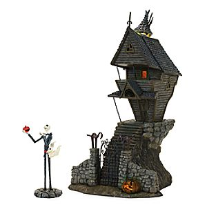 Jack Skellington's House - Tim Burton's The Nightmare Before Christmas Village by Dept. 56