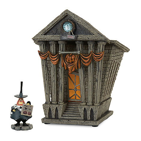 Halloween Town City Hall - Tim Burton's The Nightmare Before Christmas Village by Dept. 56