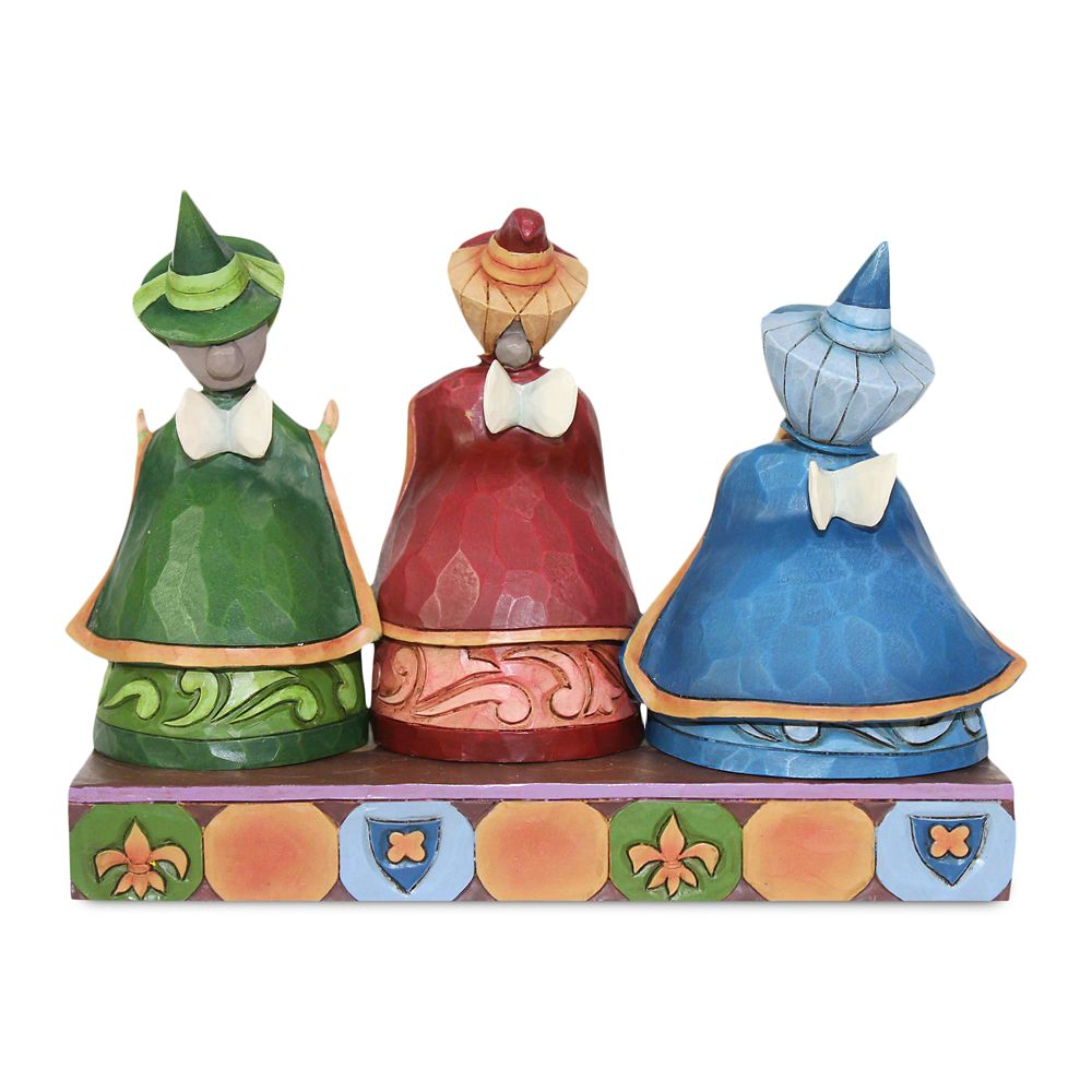 Flora, Fauna, and Merryweather ''Royal Guests'' Figure by Jim Shore