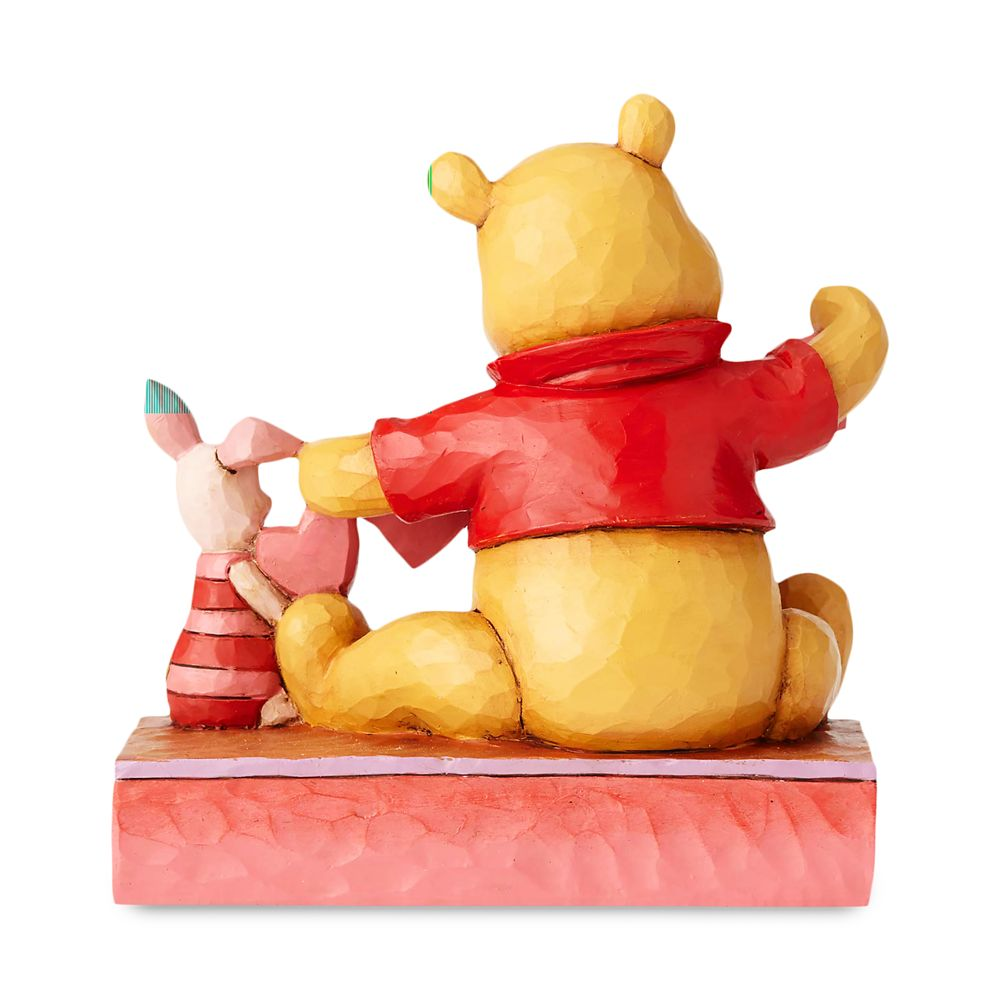 Winne the Pooh and Piglet ''Handmade Valentine'' Figure by Jim Shore