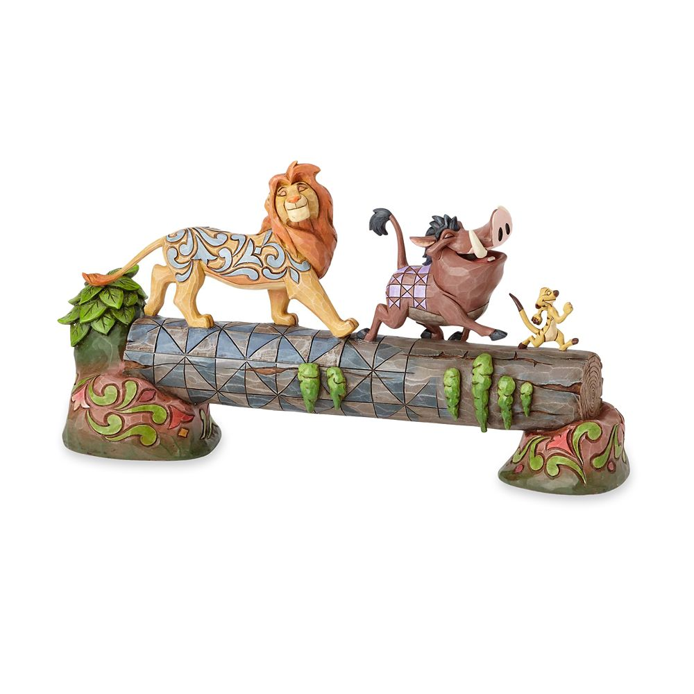 The Lion King ''Carefree Camaraderie'' Figurine by Jim Shore