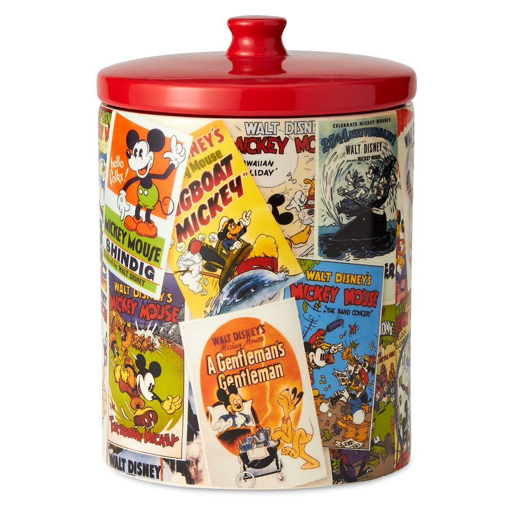 Mickey Mouse Poster Art Collage Kitchen Canister