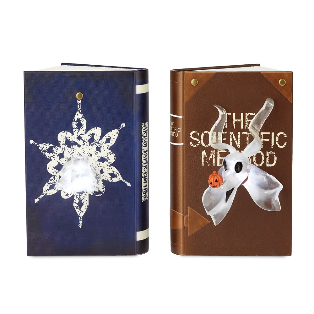 Zero Light-Up Bookend Set by Disney Showcase Collection – Nightmare Before Christmas