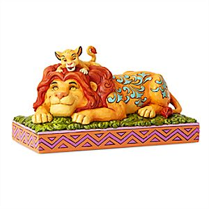 Simba and Mufasa ''A Father's Pride'' Figure