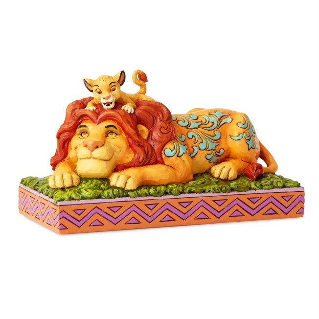 Simba and Mufasa ''A Father's Pride'' Figure by Jim Shore
