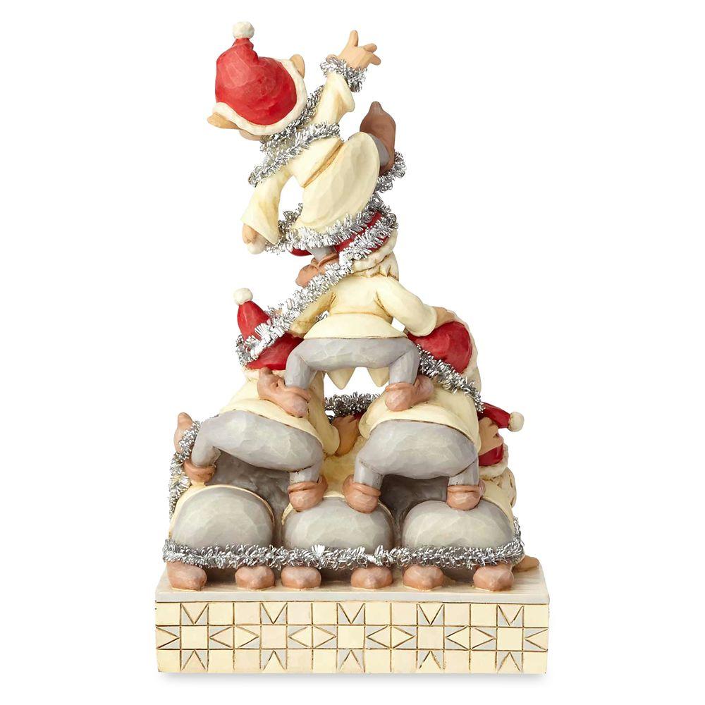Seven Dwarfs ''Precarious Pyramid'' Figure by Jim Shore