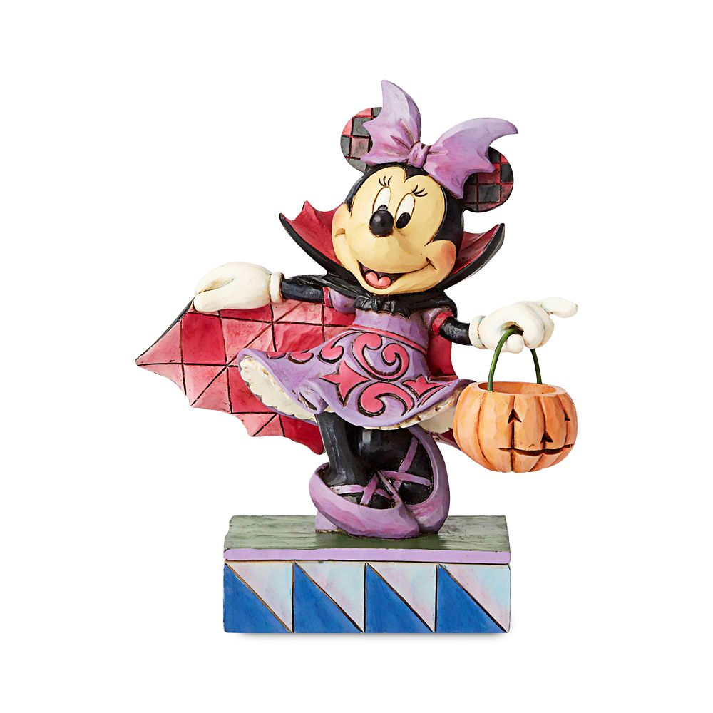 Minnie Mouse ''Violet Vampire'' Figure by Jim Shore Official shopDisney