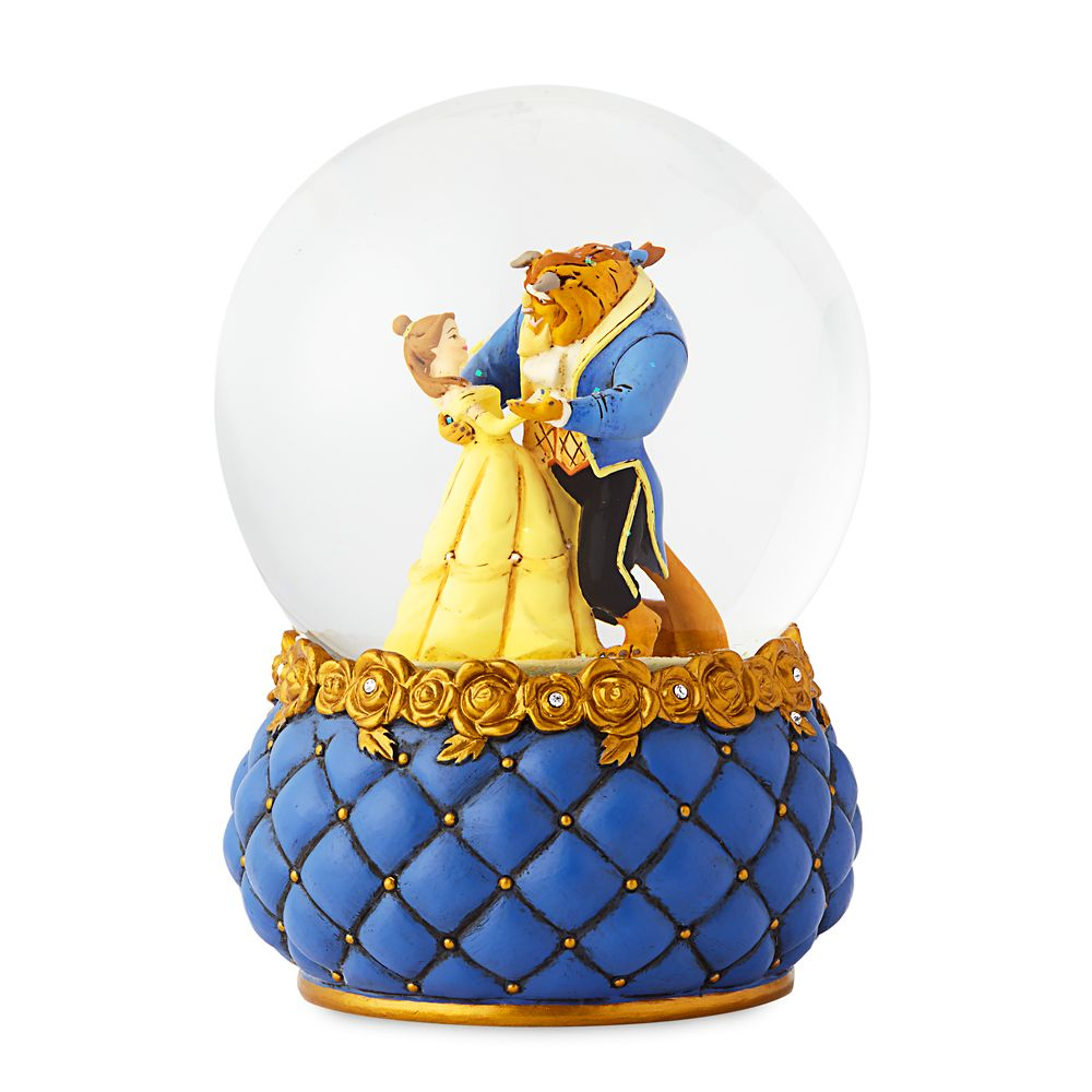 Beauty and the Beast Couture de Force Snowglobe by Enesco