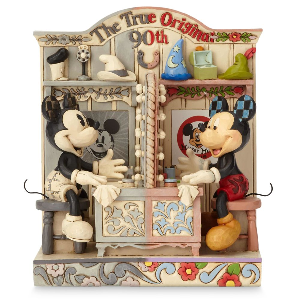 Mickey Mouse ''The True Original'' 90th Anniversary Figurine by Jim Shore Official shopDisney