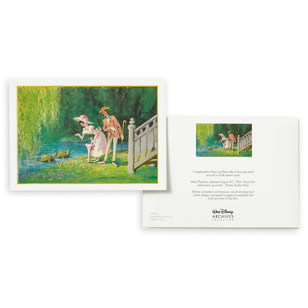 Mary Poppins Notecard Set – Walt Disney Archives Collection