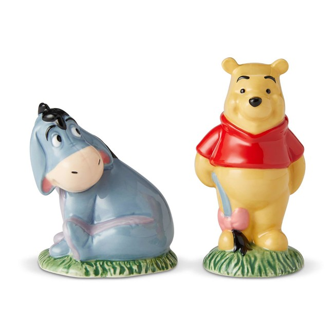 Winnie the Pooh and Eeyore Salt and Pepper Set