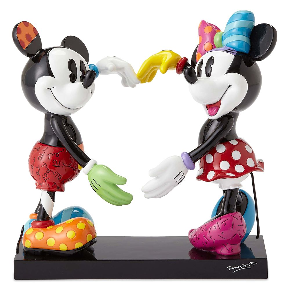 Mickey and Minnie Mouse Figure by Britto – 7'' H