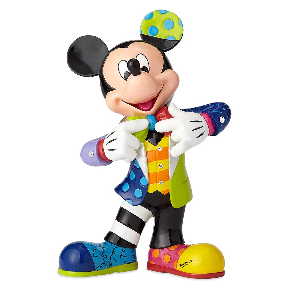 Mickey Mouse Bling Figure by Britto  10 1/4'' H Official shopDisney