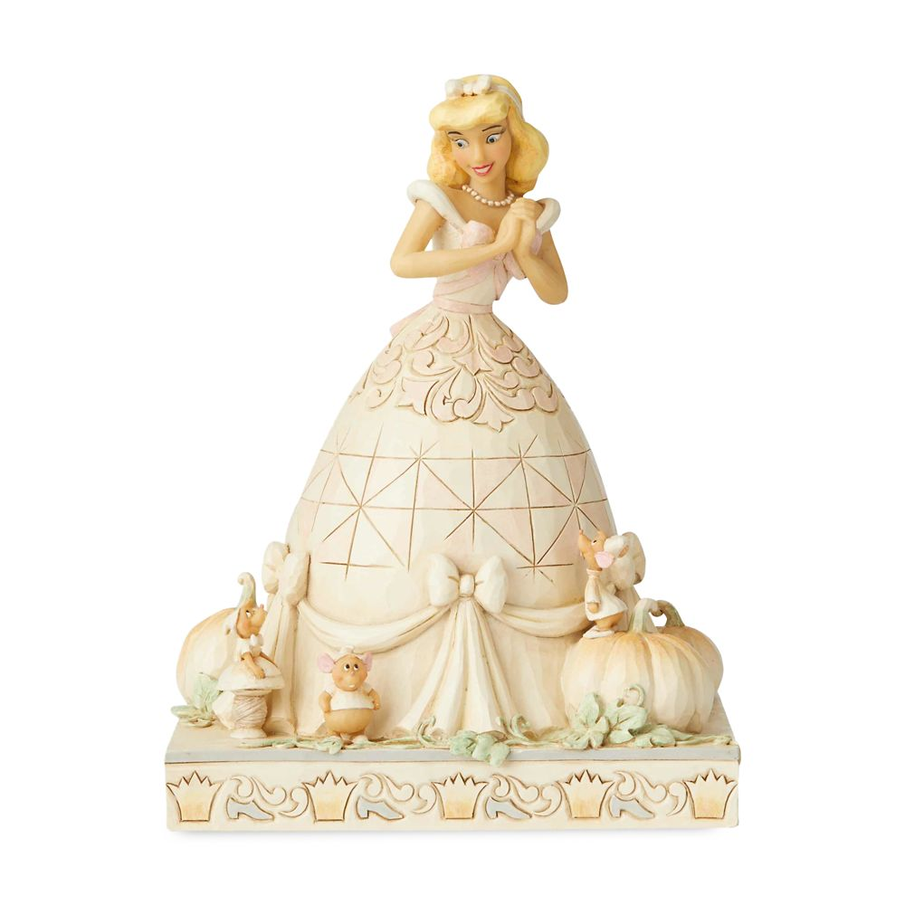 Cinderella ''White Woodland'' Figure by Jim Shore