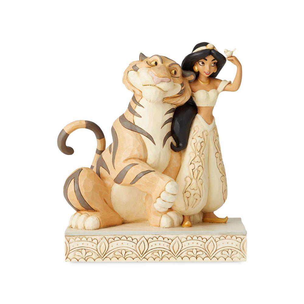 Jasmine and Rajah ''White Woodland'' Figure by Jim Shore