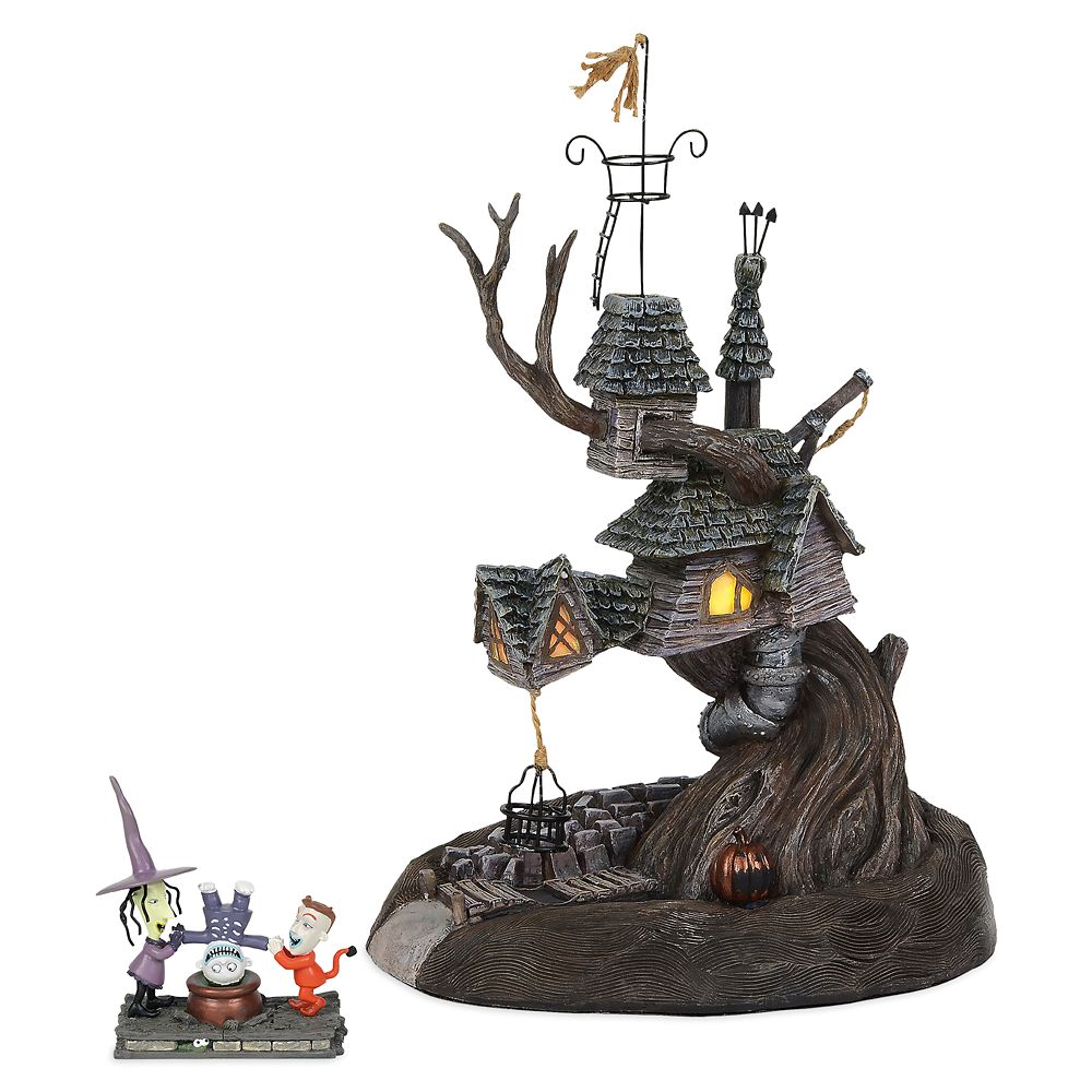 Lock, Shock & Barrel Treehouse Figurine by Dept. 56 – Nightmare Before Christmas