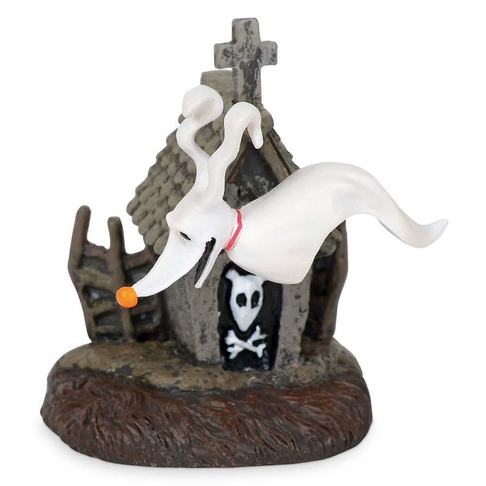 Zero and Dog House Figurine by Dept. 56 – Nightmare Before Christmas